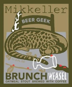 Mikkeller Beer Geek Brunch Weasel etykietka