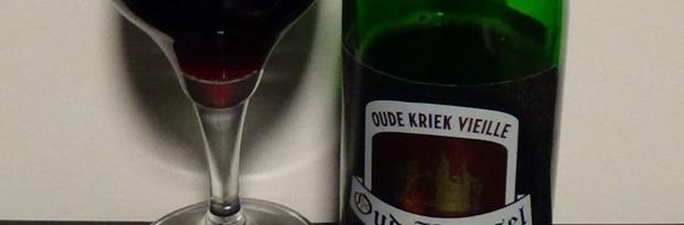 Oude Beersel Oude Kriek Vieille etykietka